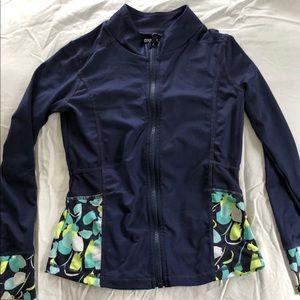Gymboree girls zipper workout jacket